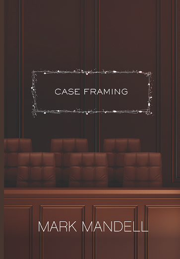 Case Framing Cover Brown Jury box with title in white