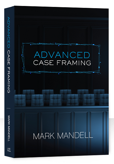 Advanced Case Framing Cover navy and dark grey jury box