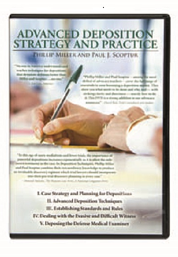 Advanced Deposition DVD Cover hand writing with a pen