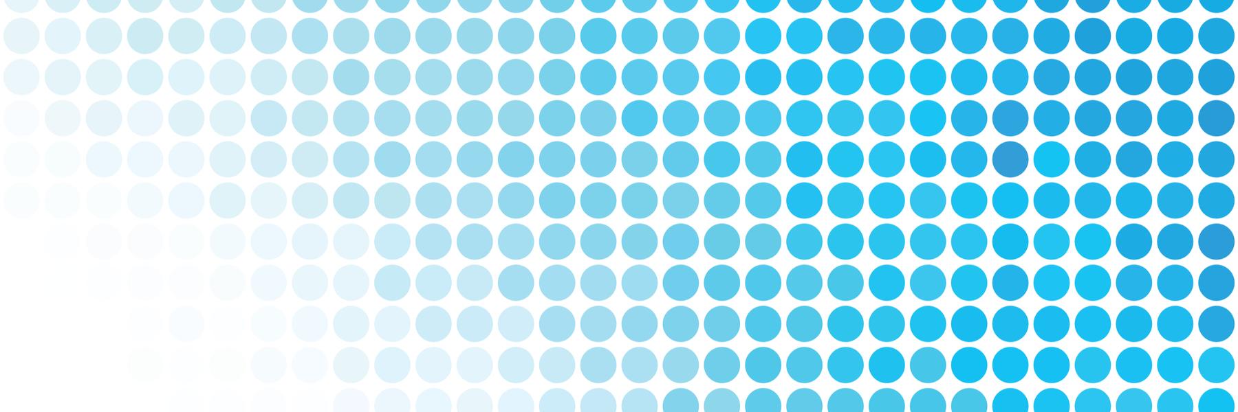 Pattern of blue dots.