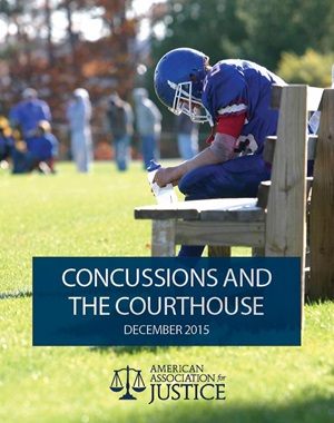 Concussions and the Courthouse Cover