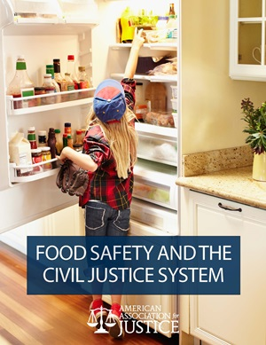 Food Safety and the Civil Justice System Cover