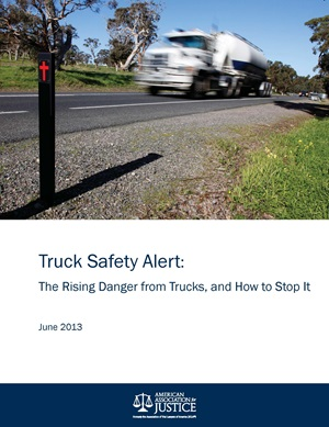 Trucking Safety Report Cover